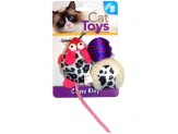North American Pet Classy Kitty Mouse Ball Asst
