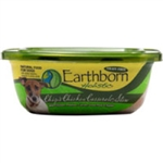 Earthborn Holistic Tub Dog Food Chips Chicken Casserole 8oz  (Pack of 8)