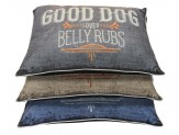 Dallas Manufacturing Good Dog Fashion Pillow Bed 30X40