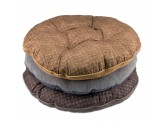 Dallas Manufacturing Tufted Round Pet Bed 35In