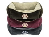 Dallas Maunufacturing Box Bed With Paw Print 25In