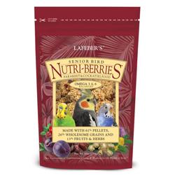Lafeber Nutri-Berries Senior Cockatiel Bird Food 10oz