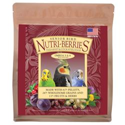 Lafeber Nutri-Berries Senior Cockatiel Bird Food 3lb