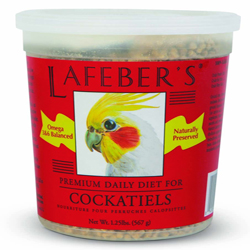 Lafeber Premium Diet Cockatiel Pellets Cockatiel 1.25lb