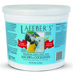 Lafeber Company Premium Daily Diet Pellet for Macaw and Cockatoo 1ea/5 lb