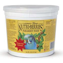 Lafeber Company Classic Nutri-Berries Parakeet Food 1ea/4 lb