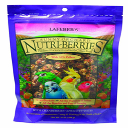 Lafeber Nutri-Berries Sunny Orchard Cockatiel 10oz
