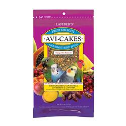 Lafeber Company Fruit Delight Avi-Cakes Small Birds Treat 1ea/8 oz