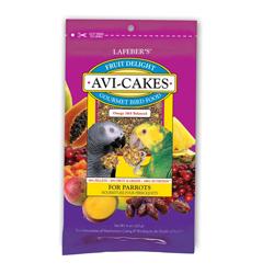 Lafeber Company Fruit Delight Avi-Cakes Parrot Treat 1ea/8 oz
