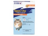 Zodiac Flea and Tick Spot On for Cats and Kittens 1ea/4 pk