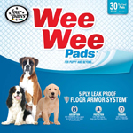Four Paws Wee Wee Absorbent Pads for Dogs 30 Count 1ea/Standard 22 in X 23 in