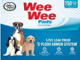 Four Paws Wee Wee Absorbent Pads for Dogs 150 Count 1ea/Standard 22 in X 23 in