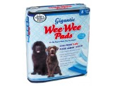 Four Paws Wee-Wee Gigantic Dog Training Pads 8-Count 1ea/Gigantic 27.5 in X 44 in