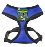 Four Paws Comfort Control Dog Harness Blue 1ea/Large