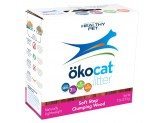 Okocat Litter Soft Step Clumping Wood 7Lb