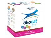 Okocat Litter Soft Step Clumping Wood 11.2Lb