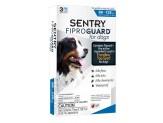 SENTRY FiproGuard Dog Flea & Tick Squeeze-on 1ea/0.136 fl oz, 3 ct