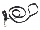 Coastal Single-Ply Nylon Dog Leash Black 1ea/5/8 In X 6 ft