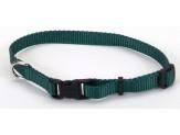 "Coastal Pet Products Tuff Buckle Adjustable Nylon Collar, 3/8"" Black 8-12"""