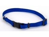 "Coastal Pet Products Tuff Buckle Adjustable Nylon Collar, 3/8"" Blue 8-12"""