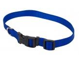 "Coastal Pet Products Tuff Buckle Adjustable Nylon Collar, 3/4""   Blue  14-20"""