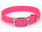Coastal Double-Ply Nylon Collar Neon Pink 1X 24in