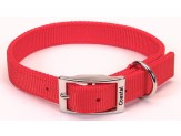 Coastal Double-Ply Nylon Collar Red 1X26in