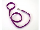 Coastal Double-Ply Nylon Dog Leash Purple 1ea/1 In X 4 ft