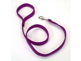 Coastal Double-Ply Nylon Leash Purple 1X6ft