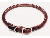 Coastal Circle T Latigo Leather Round Collar 3/8X10in