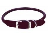 Coastal Circle T Latigo Leather Round Collar 5/8X16in