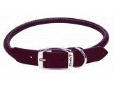 Coastal Circle T Latigo Leather Round Collar 3/4X18in