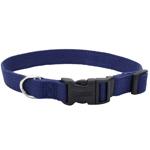 Coastal New Earth Soy Adjustable Collar Indigo 3/4X12-18In