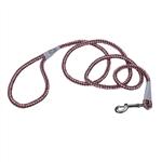 Coastal K9 Explorer 6' Rope Snap Leash  Rosebud Pink