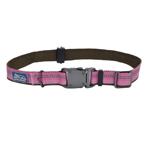 "Coastal K9 Explorer 1"" Adj Collar Rosebud Pink (18-26"")"