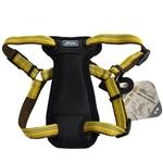 "Coastal K9 Explorer 1"" Padded Harness Goldenrod Yellow  (20-30"")"