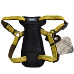"Coastal K9 Explorer 1"" Padded Harness Goldenrod Yellow  (26-38"")"