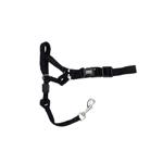 Walk 'n Train Dog Head Halter Black 1ea/Medium