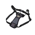 Walk Right Front-Connect Padded Dog Harness Black 1ea/Small, 16-24 in
