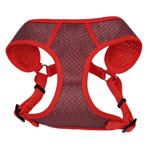 Coastal Pet Comfort Soft Sport Wrap Harness 5/8 Small Grey & Red