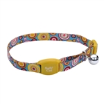 Coastal Safe Cat Adjustable Breakaway Golden Kaleidoscope