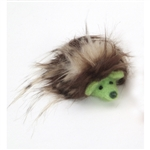 "Coastal Pet Products Rascals  Handcrafted Wool 3"" Green Hedgehog"