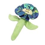 Coastal Lil Pals Kicker Kitten Toys- Crinkle Flower