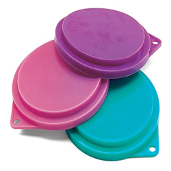 Spot Can Food Cover Clip Strip Assorted 12ea/12 Piece, 3.5 in