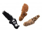 Ethical Pet Skinneeez For Cats) Forest Creatures w/Catnip Assorted Characters