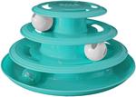 Doc & Phoebe Forever Fun Treat Track Cat Treat Dispenser Blue 1ea/5.25 in