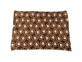 Spot Snuggler Paws/Circle Blanket Chocalate 1ea/40 In X 60 in