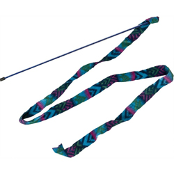 Spot Cat Prancer Fleece Frenzy Wand Cat Toy Assorted 1ea/One Size