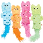 Ethical Spot Hug N Kick Shimmer Glimer Assorted Cat Toy