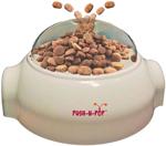 Spot Treat Dispenser Cat Toy Push-n-Pop White 1ea